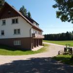 Das Haus Wälde mit den Ferienwohnungen